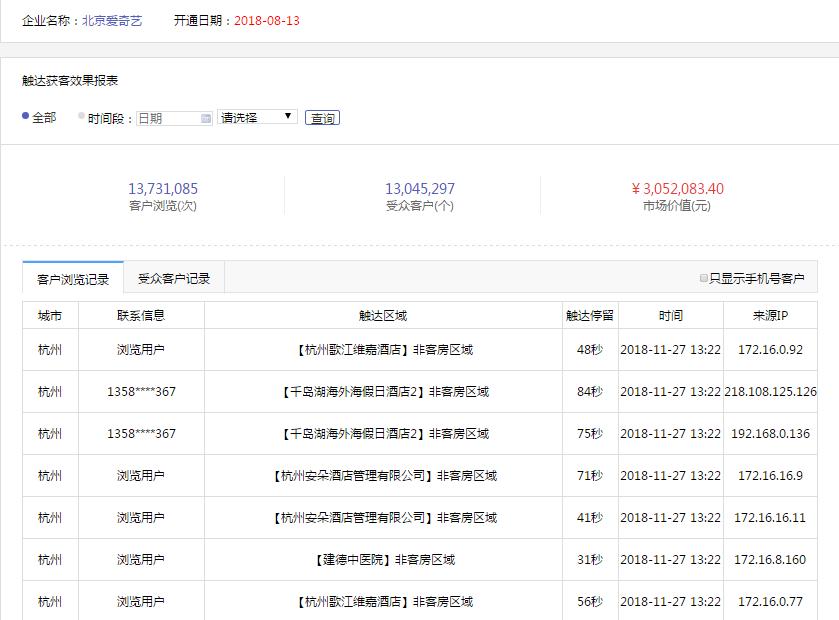 加推宝官网引流WiFi大数据营销系统