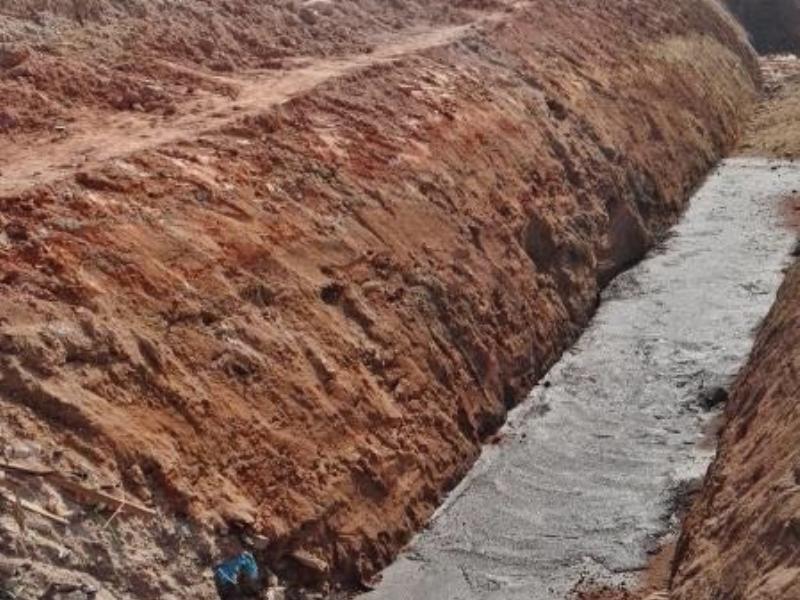 管道基�v础混凝土垫层