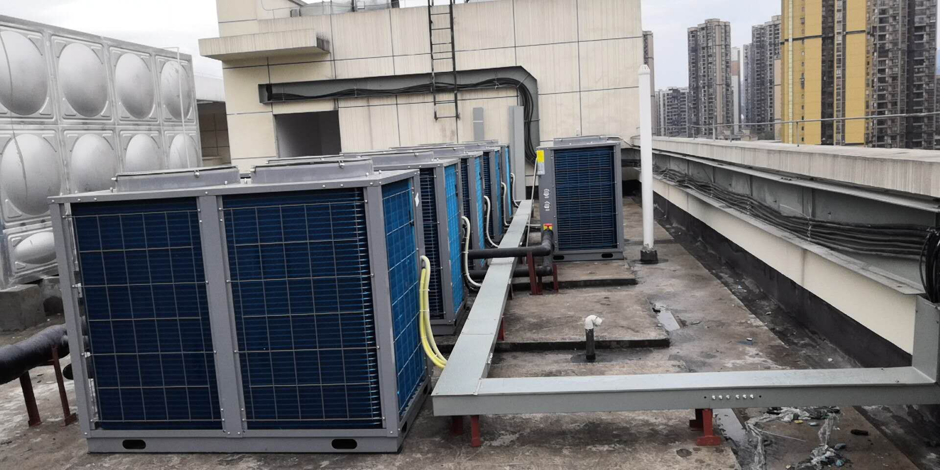 綦江福利医院60吨热水工程