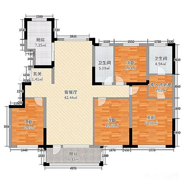 現代簡約  4室戶