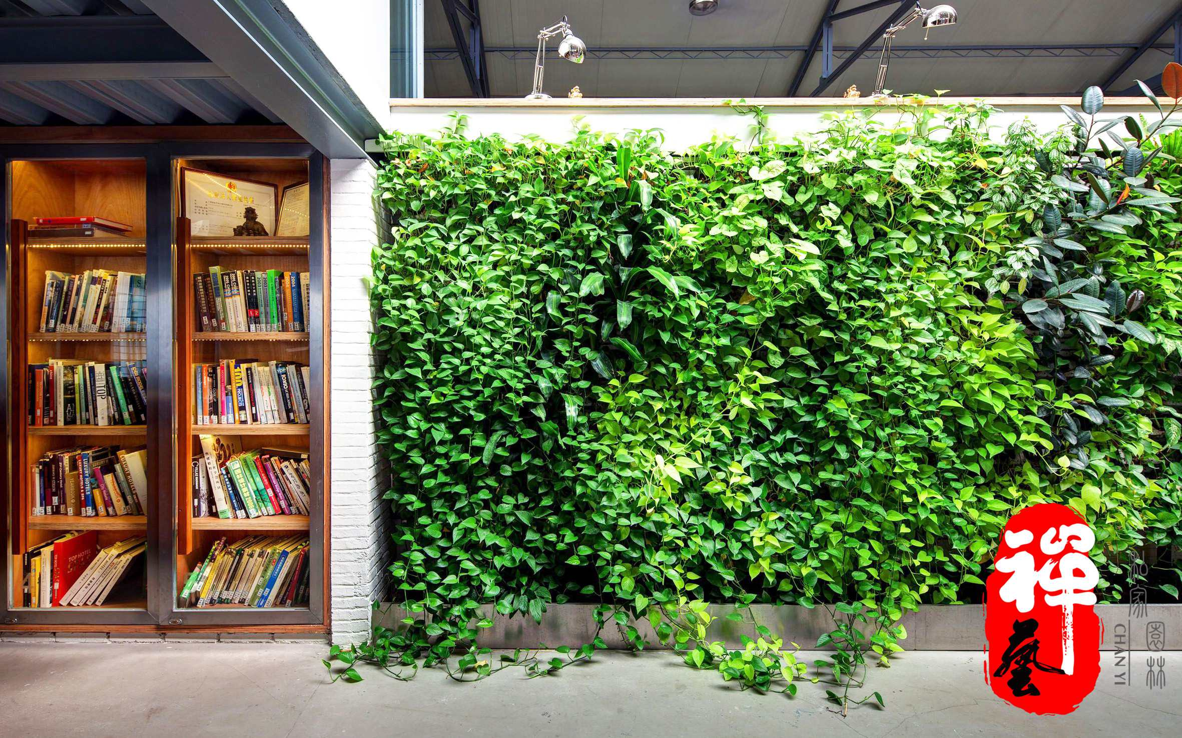 私家庭院垂直绿化-垂直绿化-工程案例-花园设计/庭院