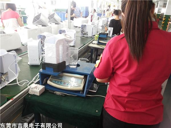可编程变频电源应用于出口煮奶机产线测试