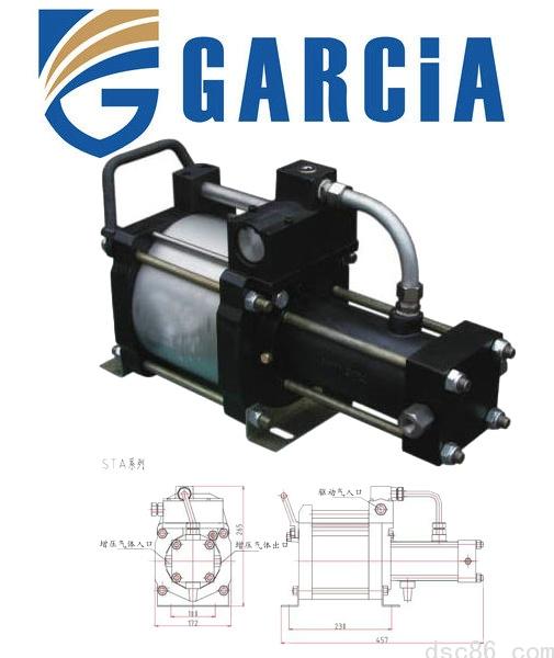 进口气体增压泵STA