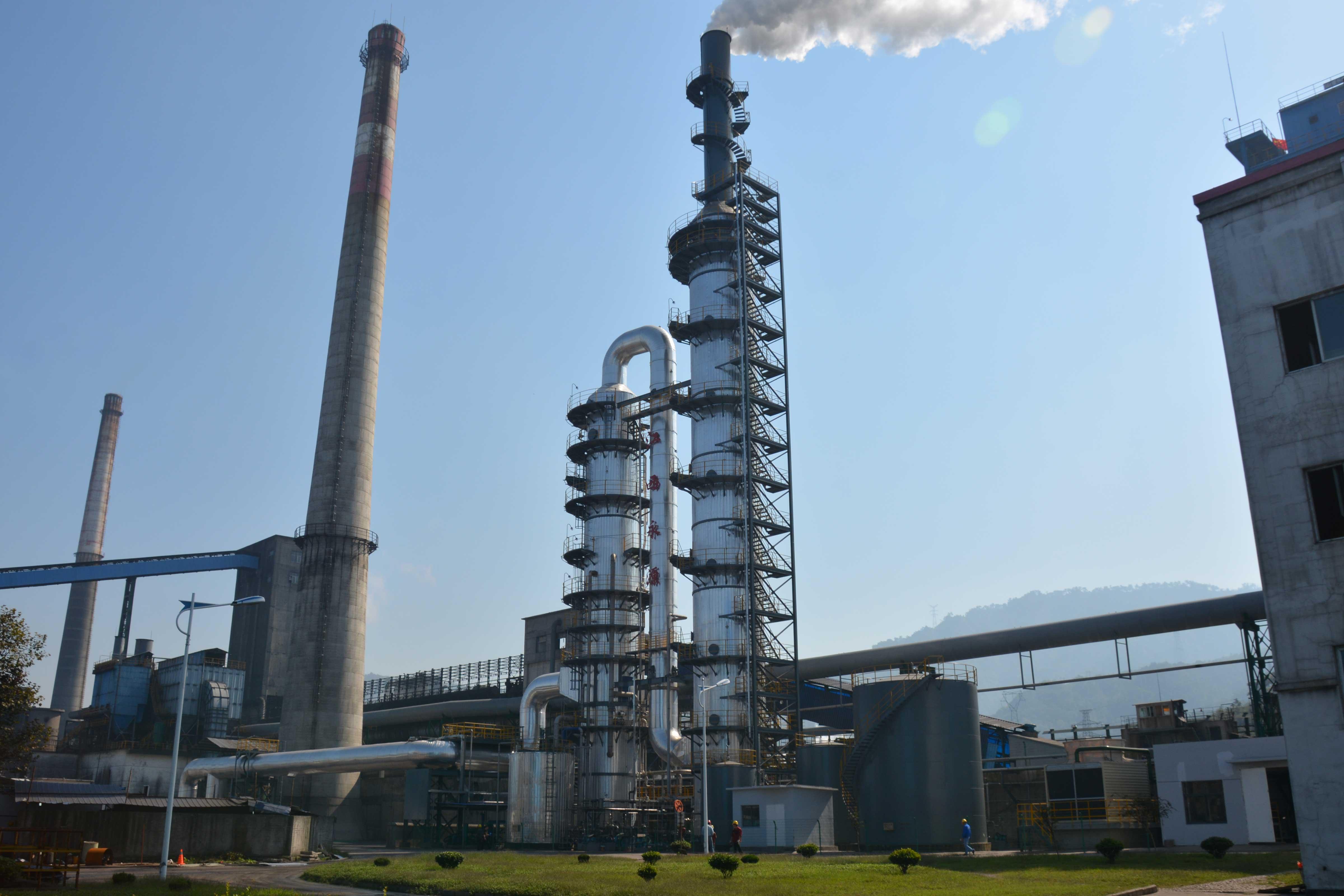 景焦集团新昌南6#焦炉烟气脱硫脱硝一体化装置