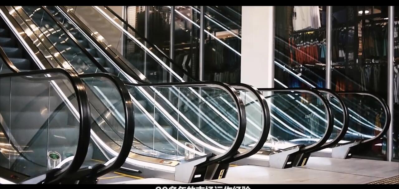商场手扶梯