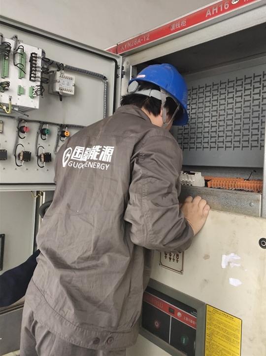 瀏陽天河紙業高壓斷路器室檢查