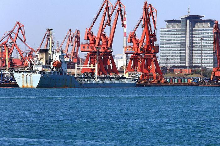 天津塘沽深港码头