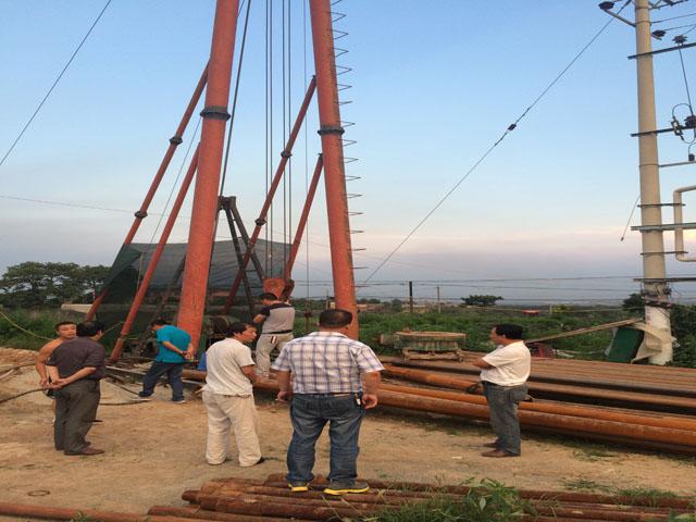 邢台350米施工现场