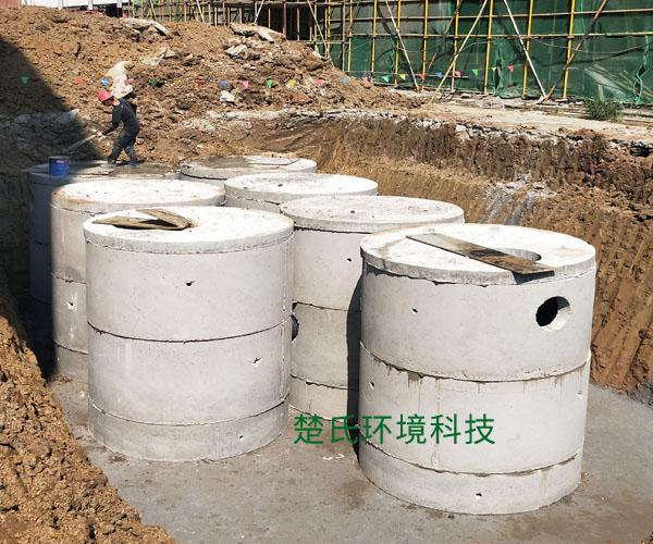 蕪湖職業學校化糞池施工工程
