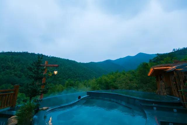 御水温泉,让大自然的纯美荡涤身心