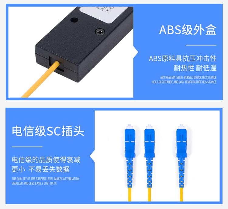电信级SC插头