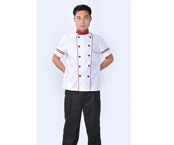 酒店服装厨师工作服