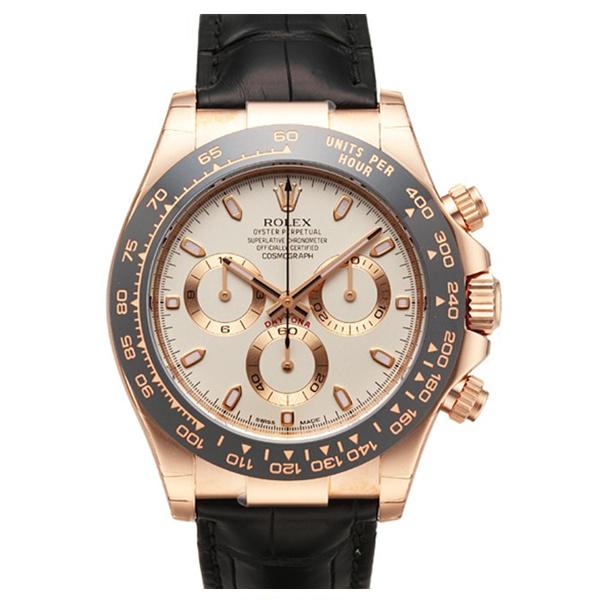 【JF厂】劳力士宇宙计型迪通拿系列116515LN象牙色机械手表