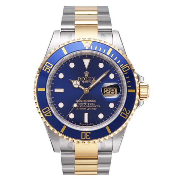 【N厂V7版】劳力士潜航者型系列腕表116613L间金蓝水鬼手表