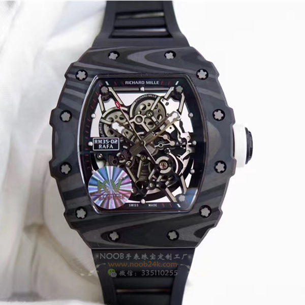 【KV厂】里查德米尔男士系列RM 35-01锻造碳纤维男士腕表