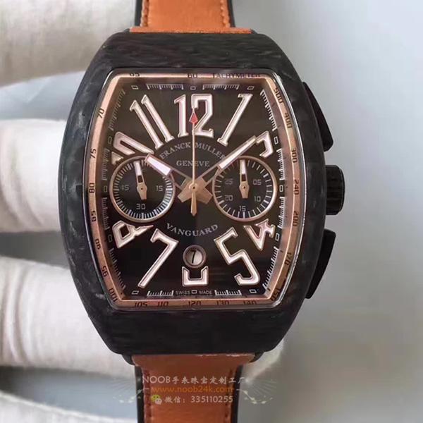 法兰克穆勒锻造碳纤维表壳V45 CC DT T计时腕表