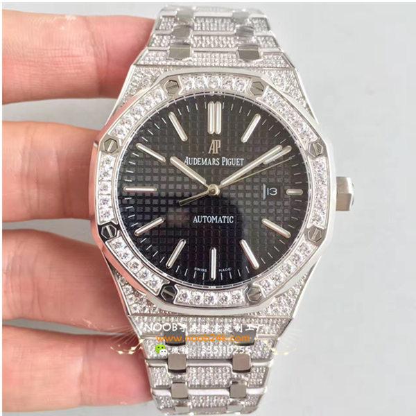 AP爱彼皇家橡树系列15400自动机械满钻腕表3120机芯手表
