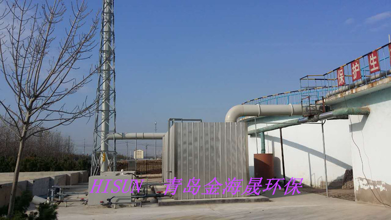 东营造板厂除臭装置
