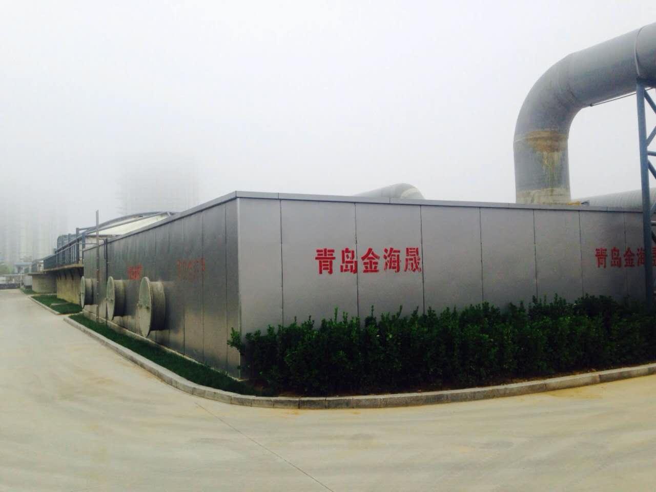 泥布灣污水廠除臭設備