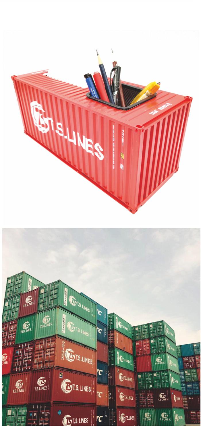 海藝坊集裝箱貨柜模型工廠生產制作各種:貨運貨柜模型LOGO定制,貨運貨柜模型定制定做,貨運貨柜模型訂制訂做,貨運貨柜模型紙巾盒筆筒 。