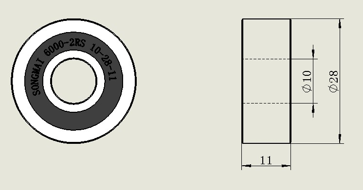SM-010203 加厚非標軸承