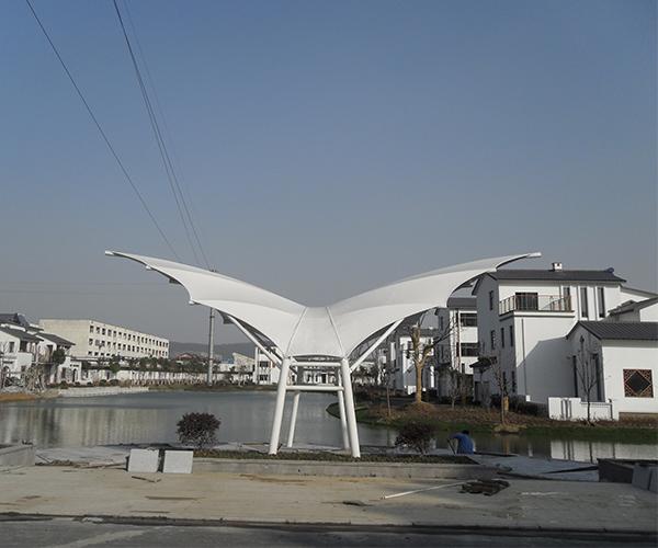 膜结构景观棚工程案例