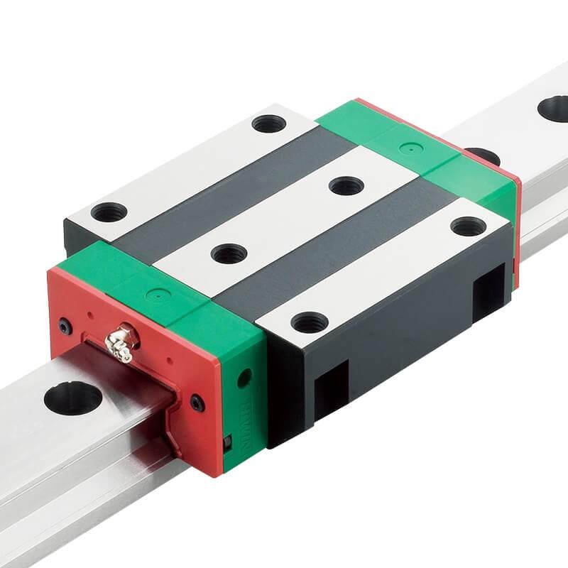 QR系列  靜音式滾柱型線性滑軌