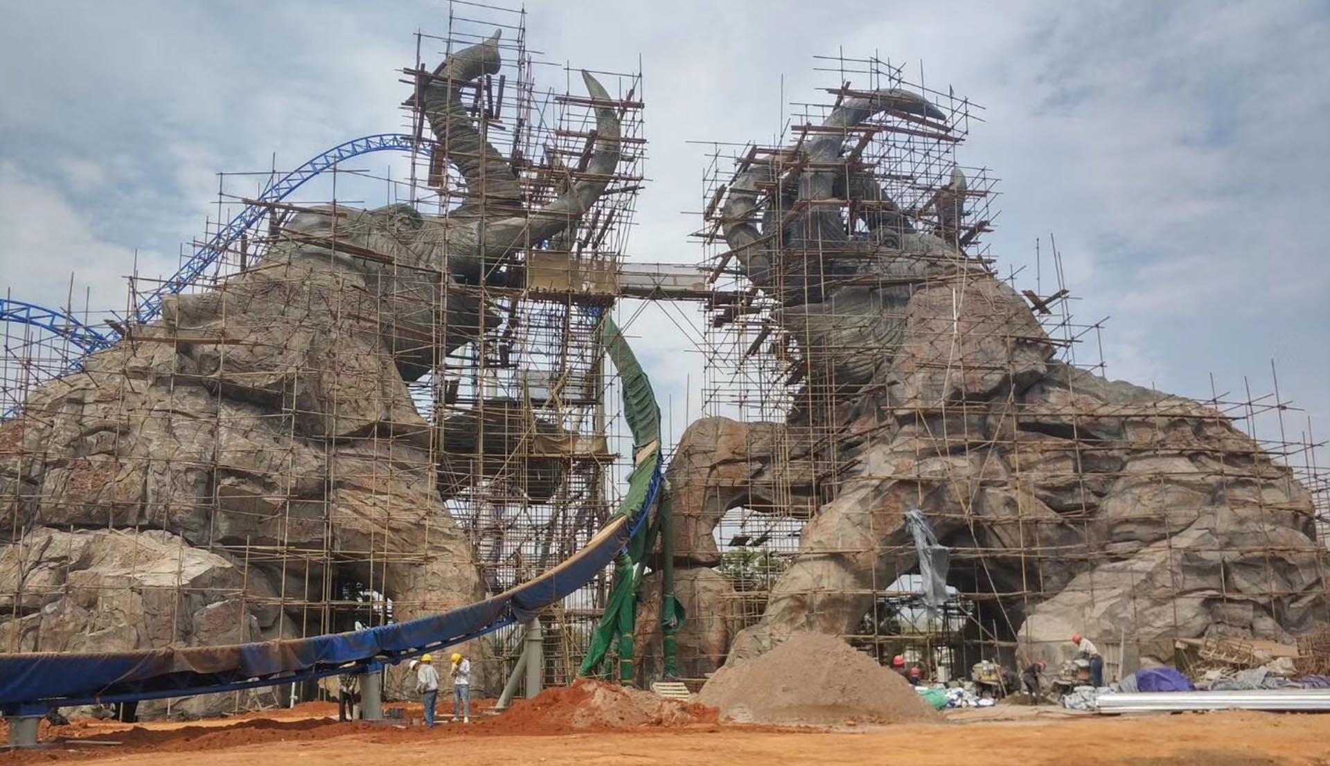 水泥(GRC)雕塑