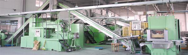 皂類產品生產流水線