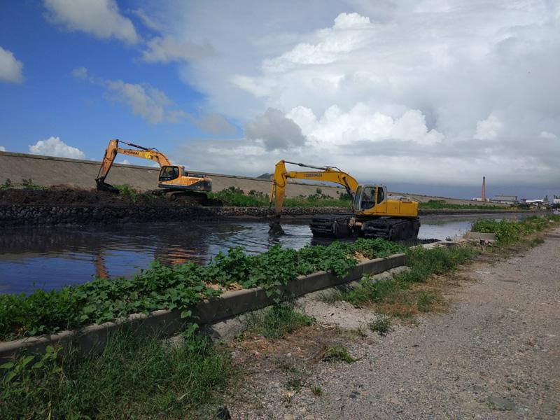 河道淤泥疏浚