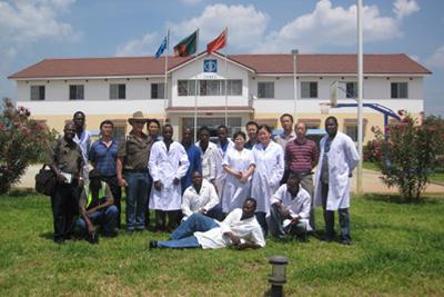 赞比亚检测分公司实验楼
