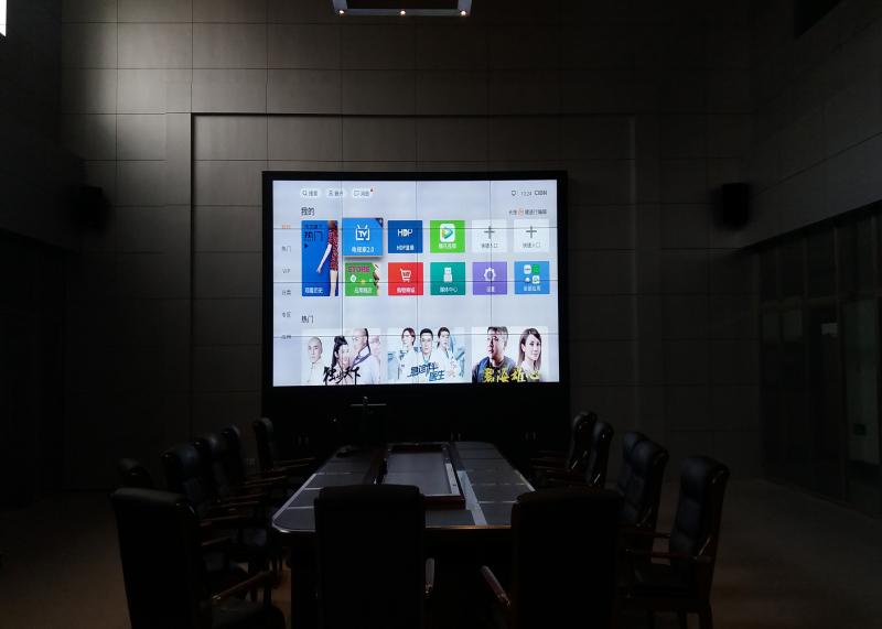 牡丹江市某局LCD拼接屏2