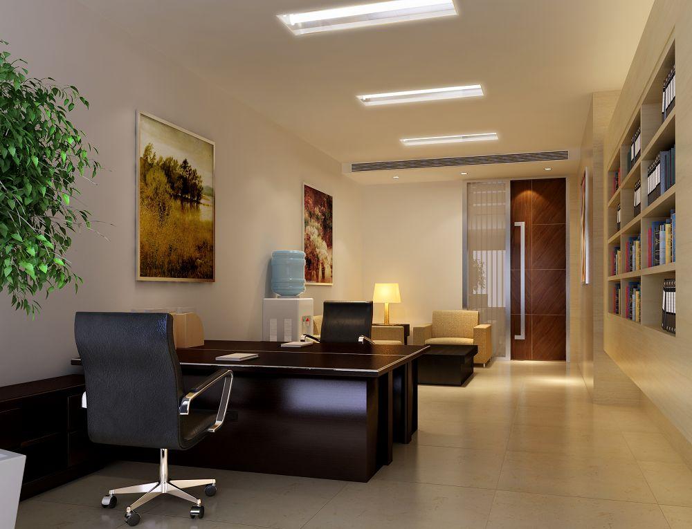 15-20平方办公室布置图-装修案例-正阳县房产装修联盟