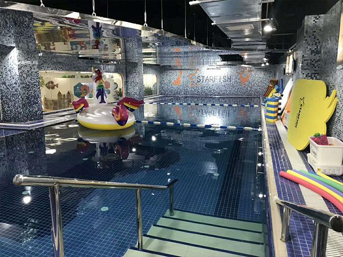 項城幼兒園泳池項目