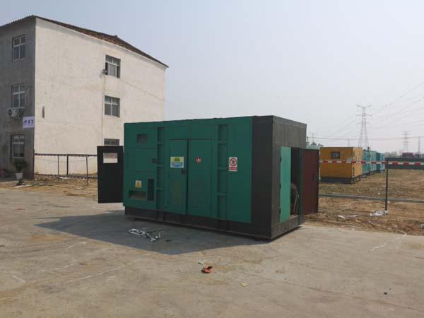 郑州发电机组销售案例