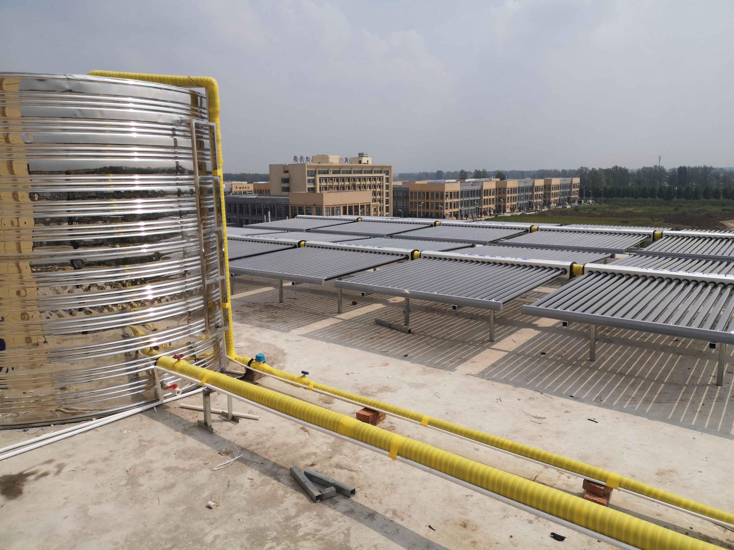 工厂高温太阳能热水