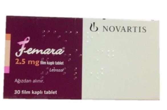 印度 来曲唑 2.5mg,Femara (Letrozol) 2.5 mg