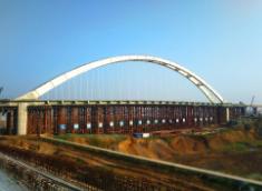 吊杆拱桥工程