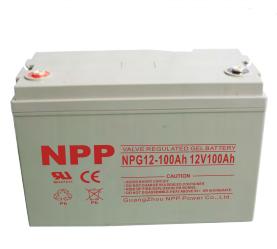 耐普NPP蓄电池NPG12V100AH